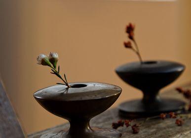 Vases - GUSOKU - Spinning Top - vase à fleurs en laiton - NOUSAKU