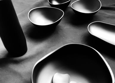 Tea and coffee accessories - new wave bowl, plate and spoon - MAISON KOICHIRO KIMURA