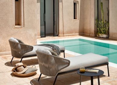 Deck chairs - Chaise longue, sun lounger Radius - MANUTTI