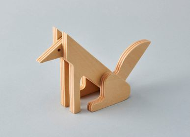 Toys - animal puzzle [kitakitsune] - PLYWOOD LABORATORY