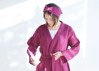 Bathrobes - CAYA BATHROBE - BAN INOUE