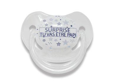 Kids accessories - Physiological announcement lollipop 0-6 months - Surprise you will be GrandpaI! - IRRÉVERSIBLE