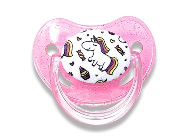 Childcare  accessories - Physiological baby pacifier 0-6 months - Unicorn - IRRÉVERSIBLE