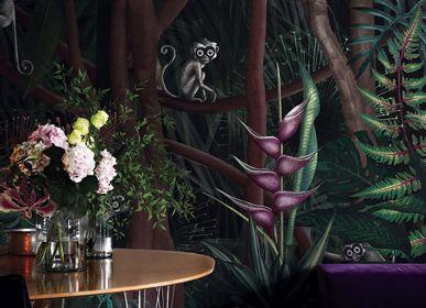 Papiers peints - Papier peint jungle haut de gamme Looks in the forest - LA MAISON MURAEM
