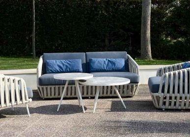 Lawn sofas   - LITUS / Sofa 2-seater - 10DEKA OUTDOOR FURNITURE
