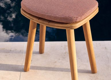 Lawn chairs - Outdoor stool Solid - MANUTTI