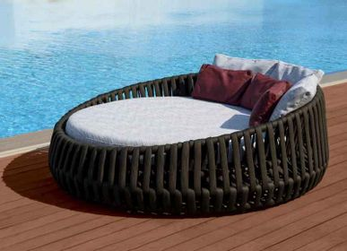 Lawn armchairs - LITUS / Daybed - 10DEKA OUTDOOR FURNITURE