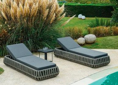 Outdoor space equipments - LITUS / Sunlounger - 10DEKA OUTDOOR FURNITURE