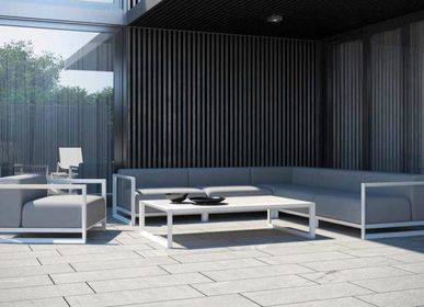 Lawn sofas   - NUBES / Set - 10DEKA OUTDOOR FURNITURE