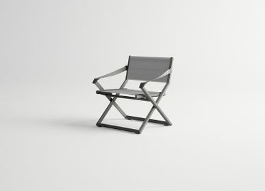Lawn armchairs - VICTUS / Lounge armchair - 10DEKA OUTDOOR FURNITURE