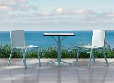 Lawn chairs - PULVIS/ Dining chair - 10DEKA OUTDOOR FURNITURE