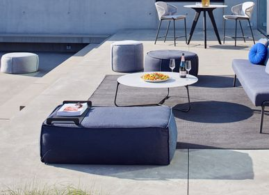 Decorative accessories - Outdoor pouf Touch - MANUTTI