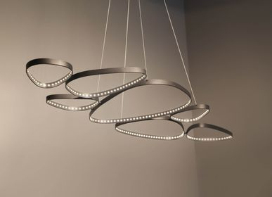 Hanging lights - Suspension roller - L'ARTISAN DES LUMIÈRES