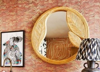 Hotel rooms - Rattan Mirror - MAHE HOMEWARE