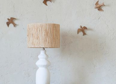 Decorative items - Wooden swallows - MAHE HOMEWARE