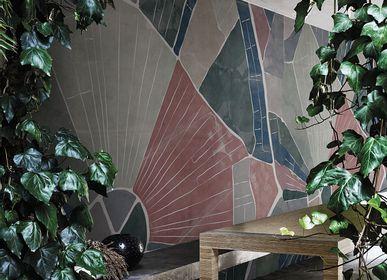 Revêtements muraux - Papier peint façade ou douche Above The Fields - LA MAISON MURAEM