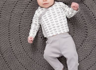 Apparel - Organic cotton bra, sweater and baby pants - FRESK