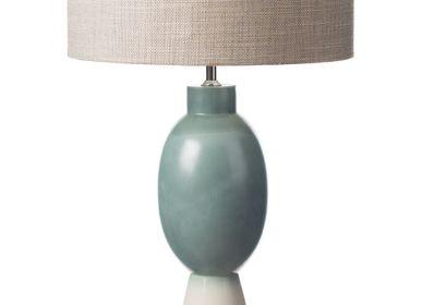 Ceramic - Teal Green Lamp - S.BERNARDO