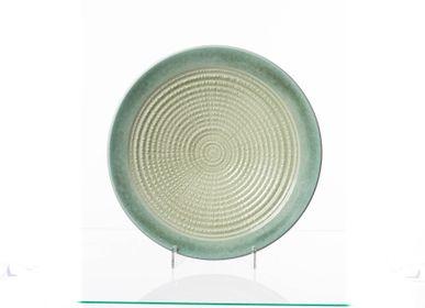 Ceramic - Teal Green Small Charger - S.BERNARDO
