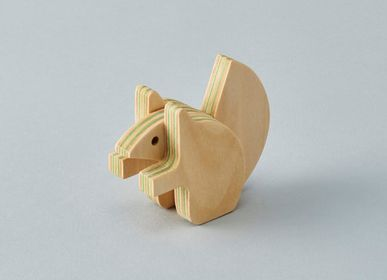 Toys - animal puzzle [ezorisu] - PLYWOOD LABORATORY