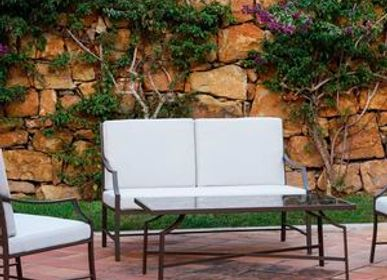 Lawn sofas   - AGOSTO / Sofa 2-seater - 10DEKA OUTDOOR FURNITURE