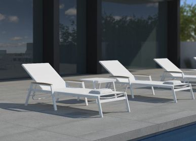 Deck chairs - AMELIA/ Sunlounger - 10DEKA OUTDOOR FURNITURE