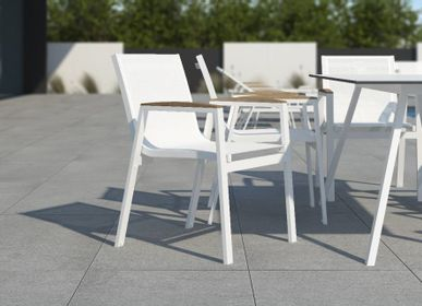 Lawn chairs - AMELIA / Dining armchair - 10DEKA OUTDOOR FURNITURE