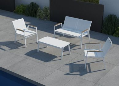 Lawn sofas   - AMELIA / Sofa - 10DEKA OUTDOOR FURNITURE