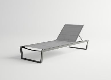 Deck chairs - COSTA/ Sunlounger - 10DEKA OUTDOOR FURNITURE