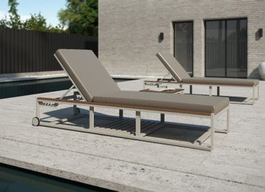 Deck chairs - DAYTONA/ Sunlounger - 10DEKA OUTDOOR FURNITURE