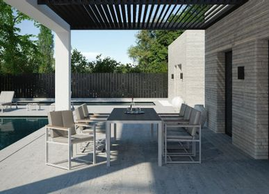 Lawn tables - DAYTONA/ Dining table - 10DEKA OUTDOOR FURNITURE