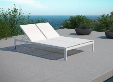 Deck chairs - MILOS/ Double sunlougner - 10DEKA OUTDOOR FURNITURE