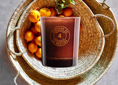 Candles - [ Tangerine peel ]  Scented candle - PARFUMS DE LA BASTIDE