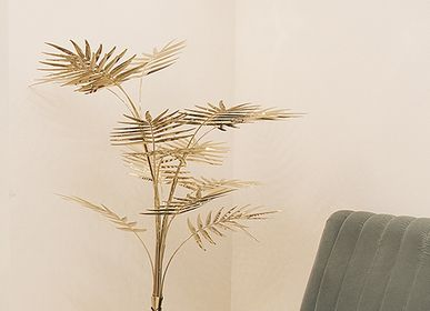 Decorative objects - Ivete Palm Tree Lamp - COVET HOUSE