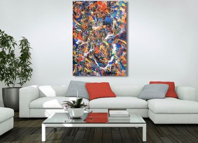 Tableaux - Peinture Grand Amour - JONAQUESTART