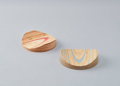 Trays - mokume - PLYWOOD LABORATORY