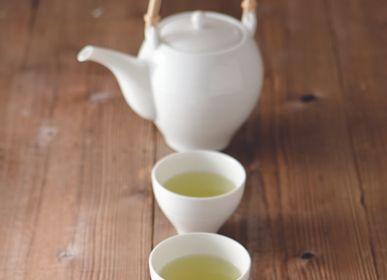 Accessoires thé et café - Théière sou (dobin) porcelaine blanche - MIYAMA.
