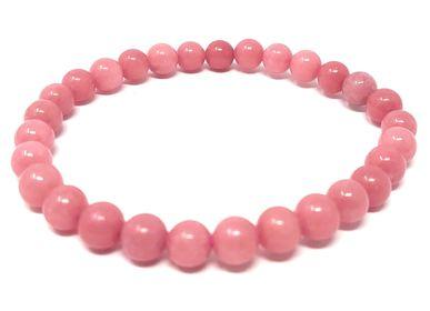 Jewelry - Adult Natural Stone Bracelet - Rose Quartz - IRRÉVERSIBLE