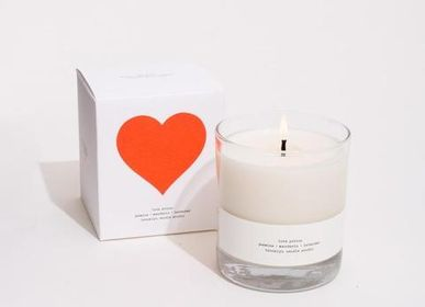 Candles - Love Potion limited Edition Valentine's Day - BROOKLYN CANDLE STUDIO