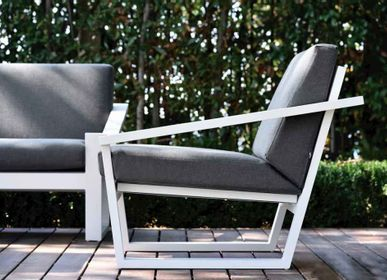 Lawn armchairs - COSTA / Lounge armchair - 10DEKA OUTDOOR FURNITURE
