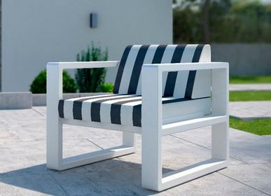 Lawn armchairs - DELAZ / Armchair - 10DEKA OUTDOOR FURNITURE