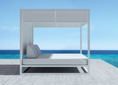 Deck chairs - MILOS / Daybed - 10DEKA OUTDOOR FURNITURE