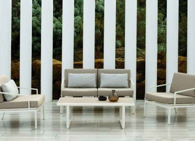 Lawn sofas   - ORA / Sofa - 10DEKA OUTDOOR FURNITURE