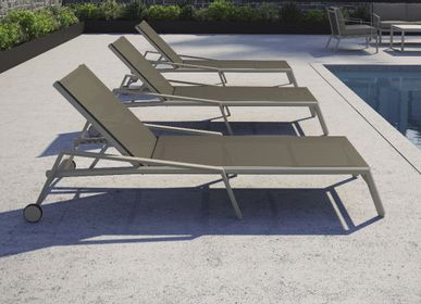 Deck chairs - ORA / Sunlounger - 10DEKA OUTDOOR FURNITURE