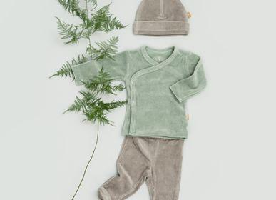Prêt-à-porter - Brassière, pull et pantalon bébé en coton biologique - FRESK