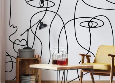 Papiers peints - Papier peint design Koketit Underscore - LA MAISON MURAEM