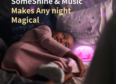 Lighting - Musical Star Projector - Pink Carousel - SOMESHINE