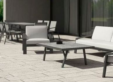 Outdoor fireplaces - PULVIS/ Coffee table - 10DEKA OUTDOOR FURNITURE