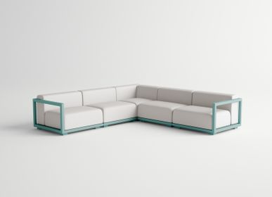 Lawn sofas   - VICTUS / Set - 10DEKA OUTDOOR FURNITURE