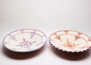 Kitchen utensils - Handmade ceramic Plates - POTERIE SERGHINI